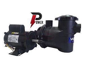 Motobomba Para piscina Power 1/3 cv com Motor 1/2cv