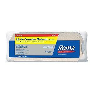 Rolo De Lã Roma Poliéster 23Cm Sem Cabo