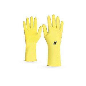 Luva De Segurança Látex Amarela G PAR