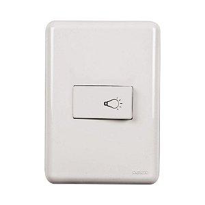 Interruptor de campainha - Embutir - Perlex