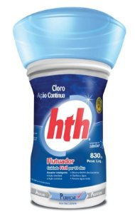 Clorador Flutuante - HTH - 830 g