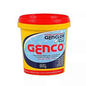 Pastilha de Cloro - Genclor - T-20 - 900 g