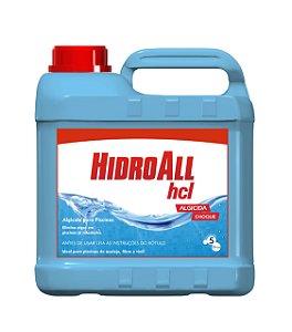 Algicida Choque - HCL - Hidroall - 5 L