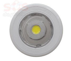 Refletor SLIM Power  em ABS Monocromatico Branco 13W - Com nicho