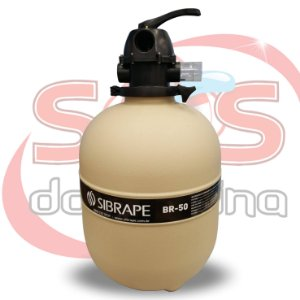 Filtro - Br-50 - Sibrape - Para Piscinas Até 70,4 m³