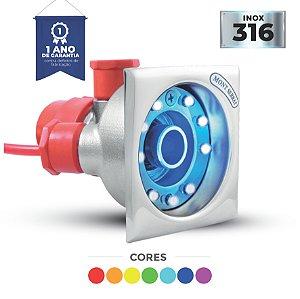 HIDRO CROMOTERAPIA QUADRADO RGB - 4.5 W  - MONT SERRAT