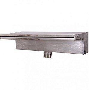 Cascata para Piscinas - Aço Inox 304 - Embutir - Compacta 40 cm