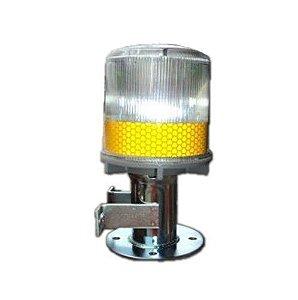 Sinalizador Solar Pisca-Pisca - SSL - WM-201 - Amarelo