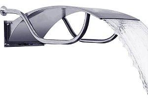Cascata para Piscinas - Aço Inox 304 - Niágara - 65 cm