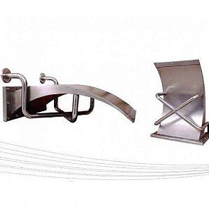 Cascata para Piscinas - Aço Inox 304 - Vitória Regia - 90 cm