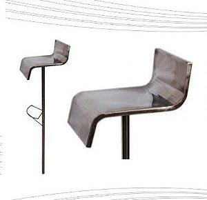 Banco para Piscinas - Aço Inox 304 - Banco Luxo