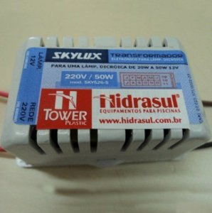 Transformador - Lâmpadas de Led - 220 V