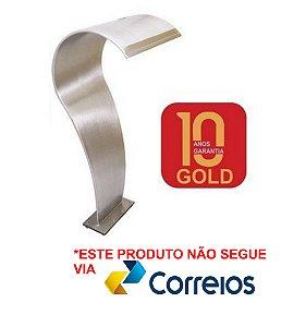 Cascata para Piscinas - Sertech Naja Gold - Aço Inox 316 - 1,05 M