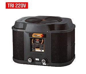 Trocador de Calor - Nautilus - Aquahot  - Black Edition -  AA-125 - Tri 220v