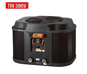 Trocador de Calor - Nautilus - Aquahot  - Black Edition -  AA- 165 - Tri 380v