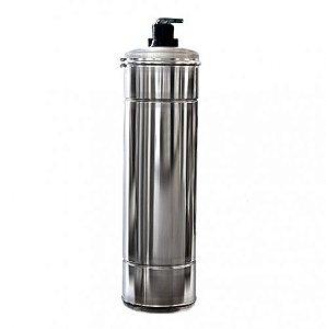 Filtros de Água Potável - Filtro Central - Aço Inox 304 - Pirafiltro - FCI 800