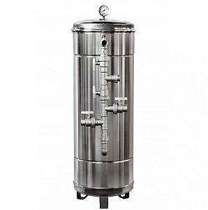 Filtros de Água Potável - Filtro Central - Aço Inox 304 - Pirafiltro - FCI 2000