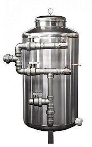 Filtros de Água Potável - Filtro Central - Aço Inox 304 - Pirafiltro - FCI 25000