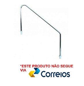Corrimão para Piscinas - PORTUGAL - 1 1/2 - Aço Inox 304