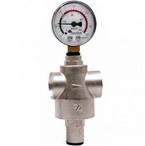 Válvula Reguladora de Pressão com Manômetro - Nautilus