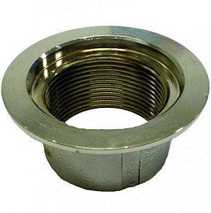 Dispositivo de Aspiração - Metalico - de 1 1/2 - 50 mm para Alvenaria - Nautilus