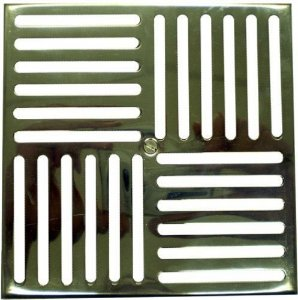 Grade de Fundo - Metalico - 15 X 15 para Alvenaria - Nautilus