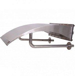 Cascata para Piscinas - Aço Inox 304 - Vitória - 90 cm