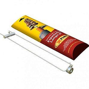 Espeto Longo - Aço Inox para Espeto Giratório Automático