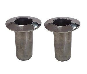 Chumbador - Copo - Aço Inox para Escada - Par