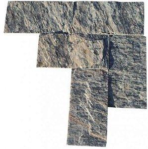 Pedra Madeira Serrada - Rosa - 11,5 X 23,0