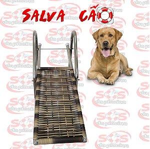 Salva Cão - Aço Inox 304 - para Piscina