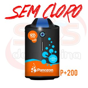 Ozônio - Panozon P+200 para Piscinas de até 200000 litros - Residencial