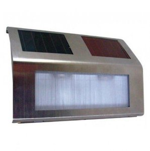 Luminária Solar - SSL - STEP LIGHT GS010 - Branca