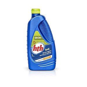 Algicida 2 em 1 - HTH - Choque e Decantador - Ultra-Clear - 1 L