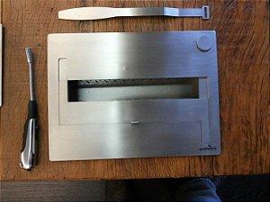Lareira Ecológica - Álcool Etanol - Queimador Fubo 35 - 36 cm