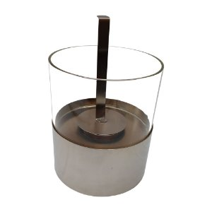 LAREIRA ECOLOGICA - ALCOOL ETANOL - FD 03 - INOX