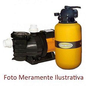 Filtro e Motobomba para Piscinas - Jacuzzi - TP 15 - 1/2 CV