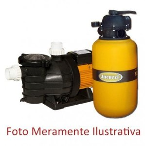 FILTRO E MOTOBOMBA - PARA PISCINAS - JACUZZI - TP 22 - 1.1/2 CV