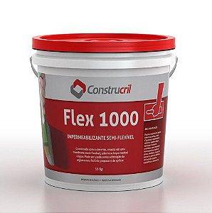 Construcril FLEX 1000 - Impermeabilizante Semi-Flexível - 16 Kg