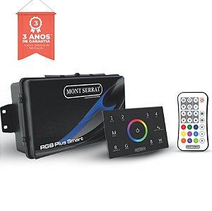 CENTRAL RGB PLUS SMART PARA 18 SUPER LEDS 12W RGB PLUS + PAINEL+ CONTROLE