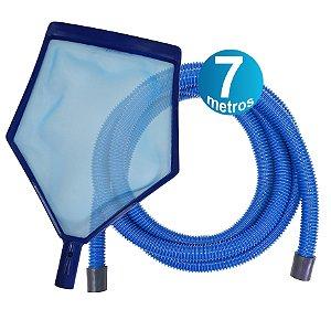 Kit Peneira + Mangueira 7 M - para piscinas infláveis