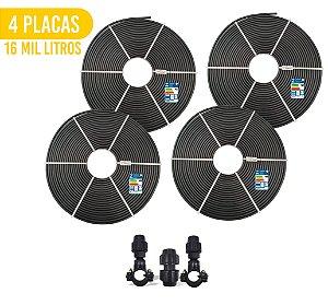Kit 4 Placas - Aquecedor Solar Para Piscina - 16.000 L