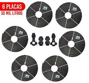 Kit 6 Placas - Aquecedor Solar Para Piscina - 30.000 L