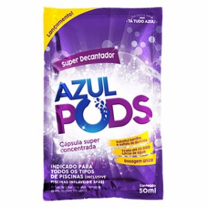 Super Decantador para Piscinas - Azulpods - 50 ML