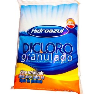 Dicloro Granulado - 5 Kg - HidroAzul