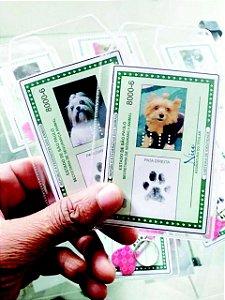 Carteira de Identidade Animal