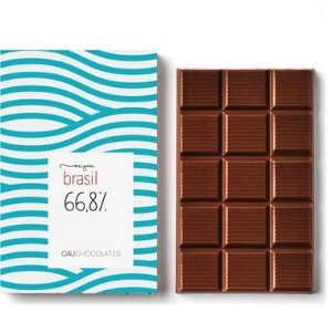 Barra 66,8% Cacau Origem Brasil