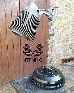 Luminária de Tambor de freio, comando de válvula, biela, pistão e camisa de fusca