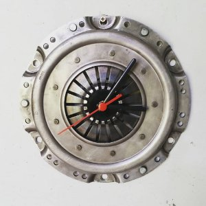 Relógio de platô de embreagem