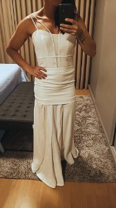 Vestido linho nesga (36) - Giuliana Romanno NOVO